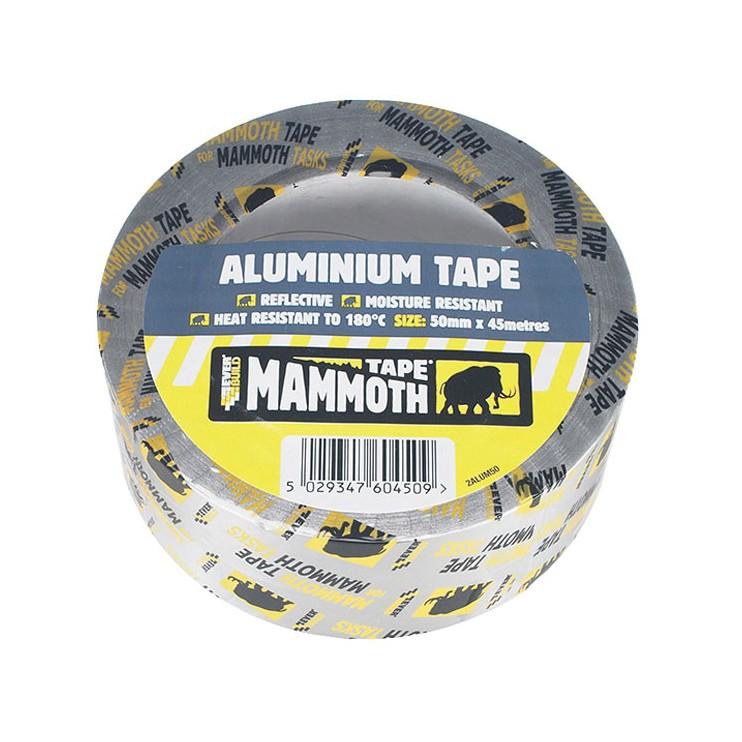 Everbuild Mammoth Aluminium Tape - 50mm x 45m