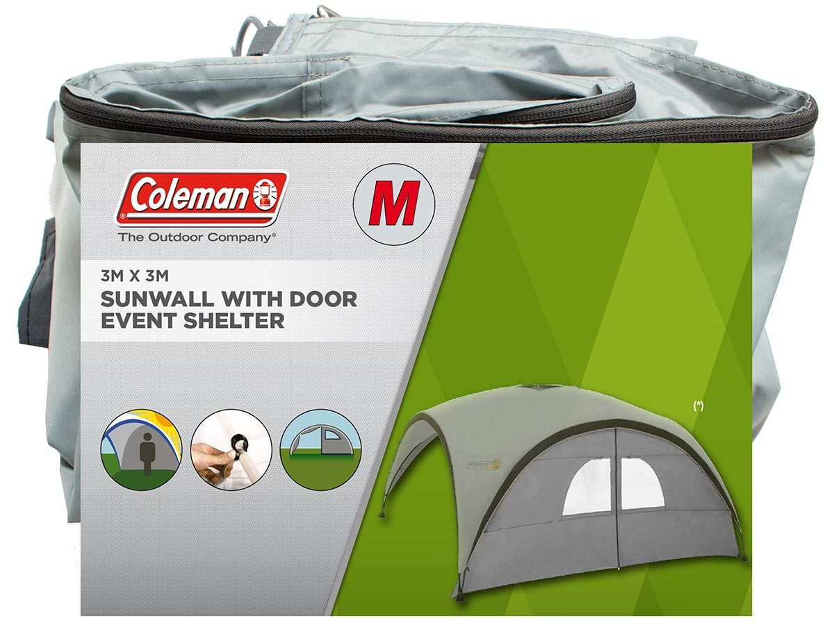 Coleman 2000028635 Event Shelter Pro M Sunwall Door - Silver