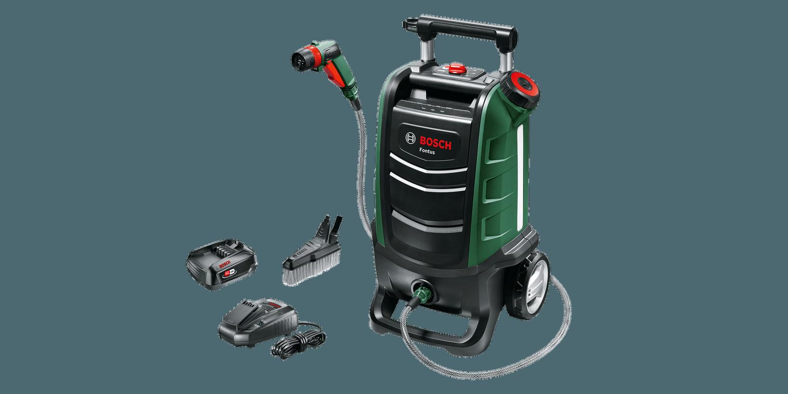 Bosch Fontus GEN II 15L Cordless Pressure Washer - 18V