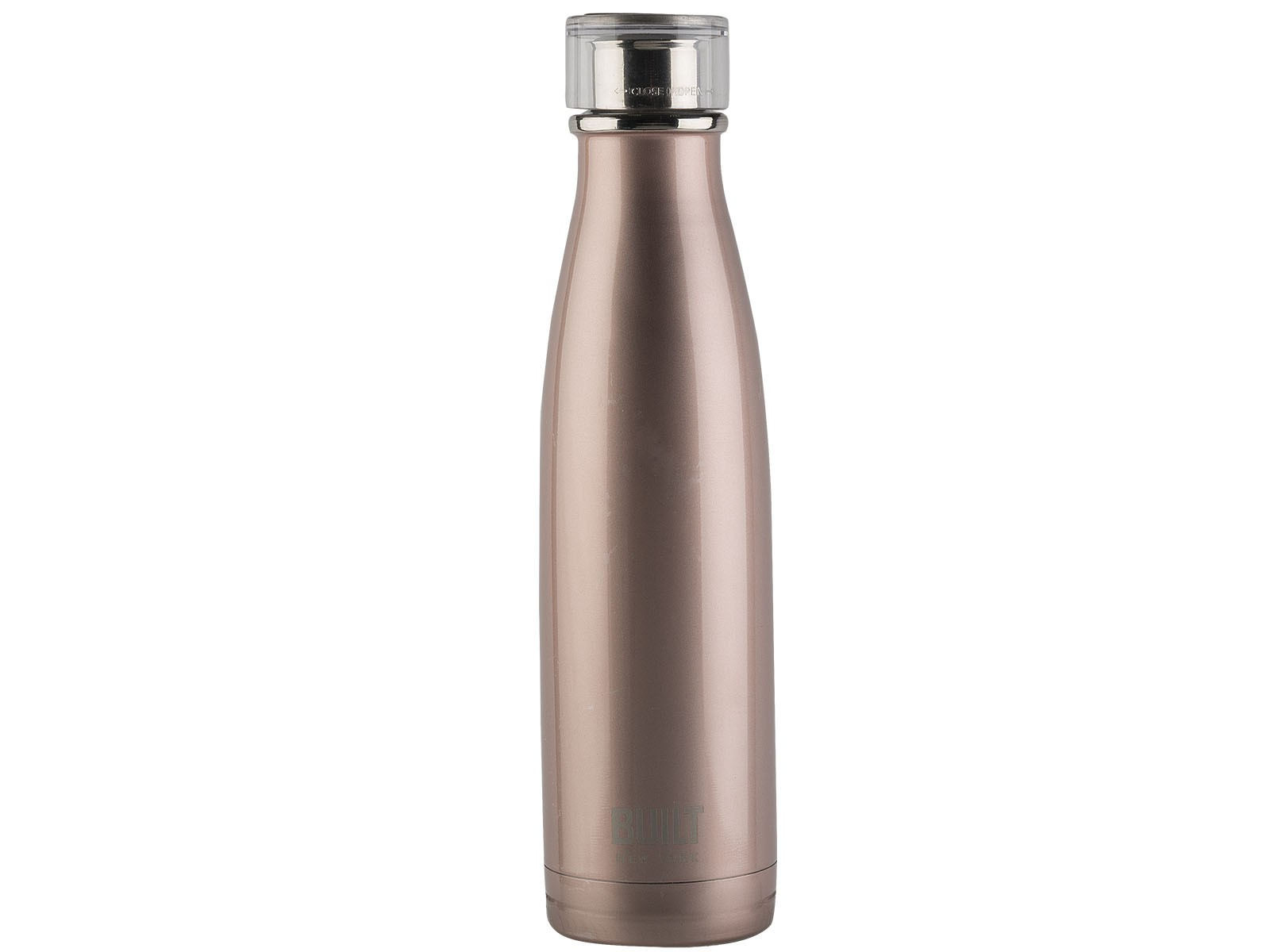 Built 17oz Double Walled Stainless Steel Water Bottle - Rose Gold