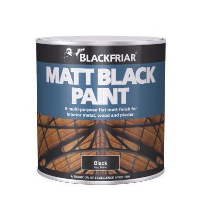 Blackfriar Matt Black Paint - 250ml