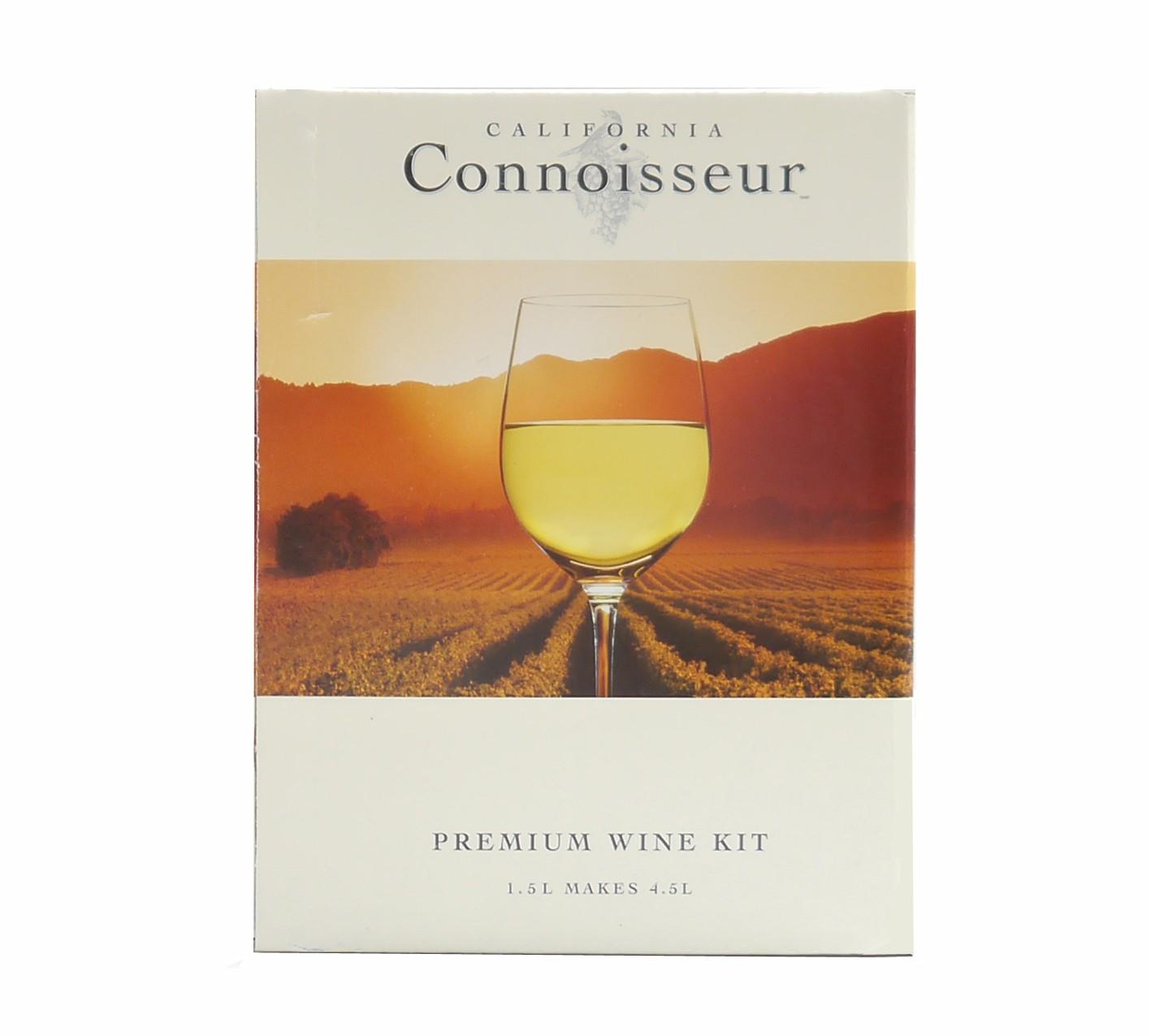 Vineco California Connoisseur Pinot Grigio Wine Making Kit - 6 Bottles