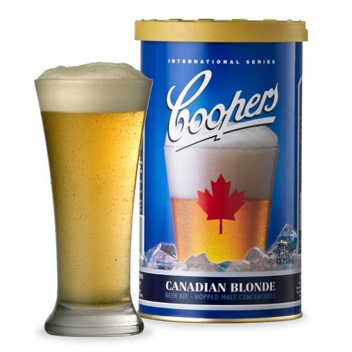 Coopers Canadian Blonde Beer Making Kit - 1.7 Kg - 40 Pints