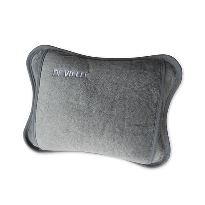 De Vielle Luxury Rechargeable Electric Hot Water Bottle - Grey