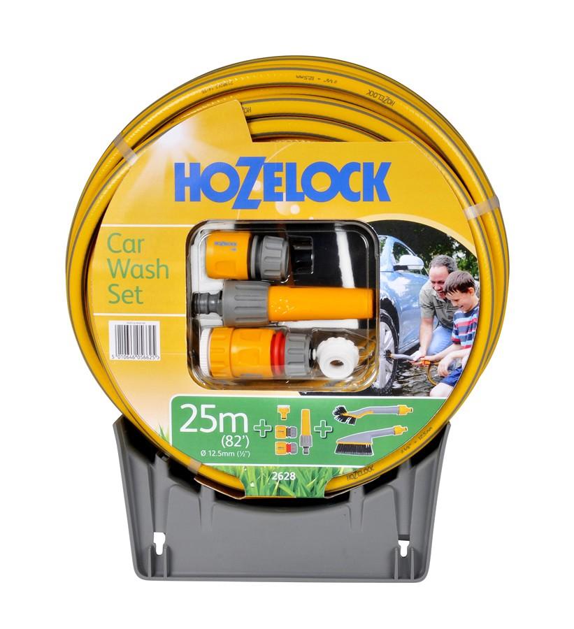 Hozelock 2628 Car Wash Set including Hose - 25m