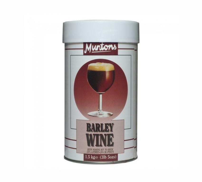 Muntons Premium Barley Wine Beer Making Kit - 1.5Kg - 24 Pints