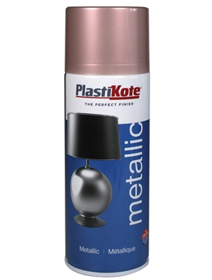 Plastikote Metallic Spray Paint Rose Gold 400ml
