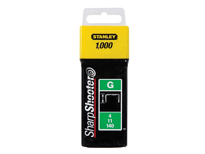 Stanley (1-TRA705T)  Heavy Duty Staples - 8mm - Pack of 1000