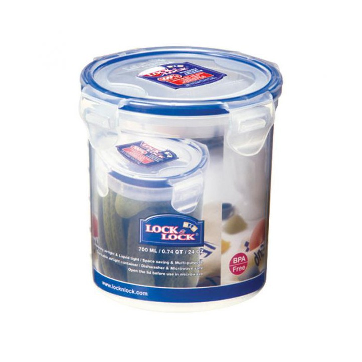 Lock & Lock HPL932D Food Storage Container Round - 700ml