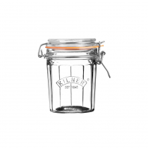 Kilner (0025.733) Facetted Clip Top Jar - 0.45L