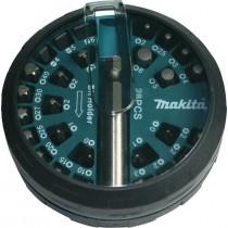 Makita B-28911-6 Screw Bit Disk Set - 28 Piece Set
