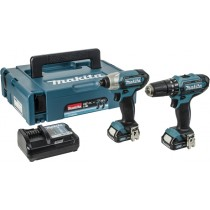 Makita CLX202AJ 10.8v Twin Kit