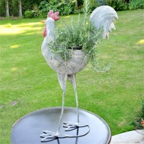 Adobe Cockerel Planter