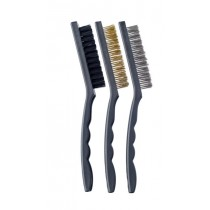 Harris Essentials Perperation Mini Wire Brushes (Assorted) Pack of 3