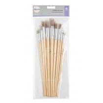 Harris Hobby & Craft Seriously Good Round Brush - Pack of 11