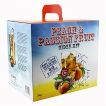 Young's Peach & Passion Fruit Cider Kit - 40 Pint
