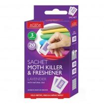Acana Sachet Moth Killer and Freshener - 20 sachets