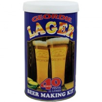 Geordie Lager Beer Making Kit - 40 Pints