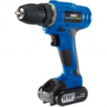 Draper (14598) Storm Force Cordless Rotary Drill with Li-ion Battery - 14.4V