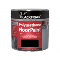 Blackfriar Polyurethane Floor Paint (Gloss) Black - 2.5L