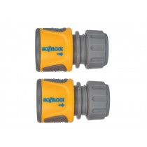 Hozelock 2070 Soft Touch Hose End Connector - Pack of 2