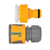 Hozelock 2071 Threaded Tap & Soft Touch Hose End Connector Set