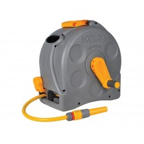 Hozelock 2415 2 in 1 Compact Enclosed Reel + Hose 25m