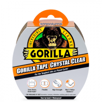 Gorilla Tape - Crystal Clear - 48mm x 16.4m