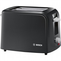 Bosch (TAT3A013GB) Toaster Village Black - 2 Slice