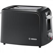 Bosch (TAT3A013GB) Toaster Village Black - 2 Slice