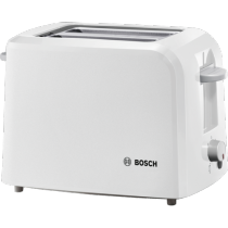 Bosch (TAT3A011GB) Toaster Village White - 2 Slice