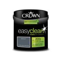 Crown Easy Clean Aftershow - Matt Emulsion Paint - 2.5L