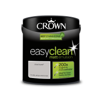 Crown Easy Clean Cloud Burst - Matt Emulsion Paint - 2.5L