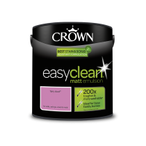 Crown Easy Clean Fairy Dust - Matt Emulsion Paint - 2.5L