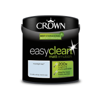 Crown Easy Clean Moonlight Bay - Matt Emulsion Paint - 2.5L