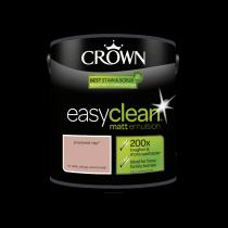 Crown Easy Clean Powdered Clay - Matt Emulsion Paint - 2.5L
