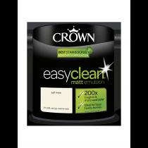 Crown Easy Clean Soft Linen - Matt Emulsion Paint - 2.5L