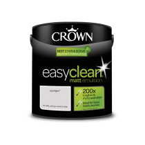 Crown Easy Clean Spotlight - Matt Emulsion Paint - 2.5L