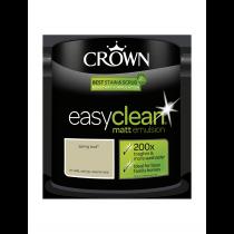 Crown Easy Clean Sping Bud - Matt Emulsion Paint - 2.5L