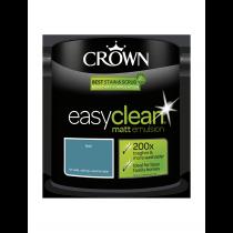 Crown Easy Clean Teal - Matt Emulsion Paint - 2.5L