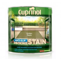 Cuprinol Anti Slip Decking Stain - Golden Maple - 2.5L