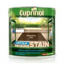 Cuprinol Anti Slip Decking Stain - Hampton Oak - 2.5L
