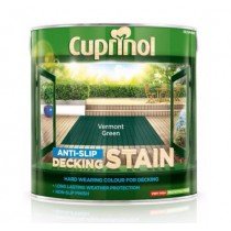 Cuprinol Anti Slip Decking Stain - Vermont Green - 2.5L