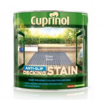 Cuprinol Anti Slip Decking Stain - Silver Birch - 2.5L