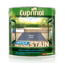Cuprinol Anti Slip Decking Stain - Urban Slate - 2.5L