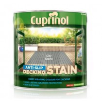 Cuprinol Anti Slip Decking Stain - City Stone - 2.5L