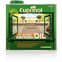Cuprinol UV Guard Decking Oil - Natural Pine - 2.5L