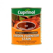 Cuprinol Softwood & Hardwood Garden Furniture Stain - Oak - 750ml