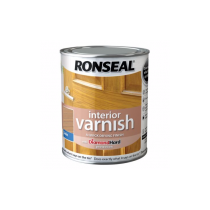 Ronseal Diamond Hard Interior Varnish - Birch (Satin) 250ml