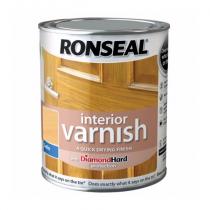 Ronseal Interior Diamond Hard Varnish - Beech (Stain) 750ml